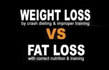 Think Fat Loss, Not Weight Loss
